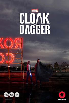 Marvel's Cloak and Dagger Series Poster 1