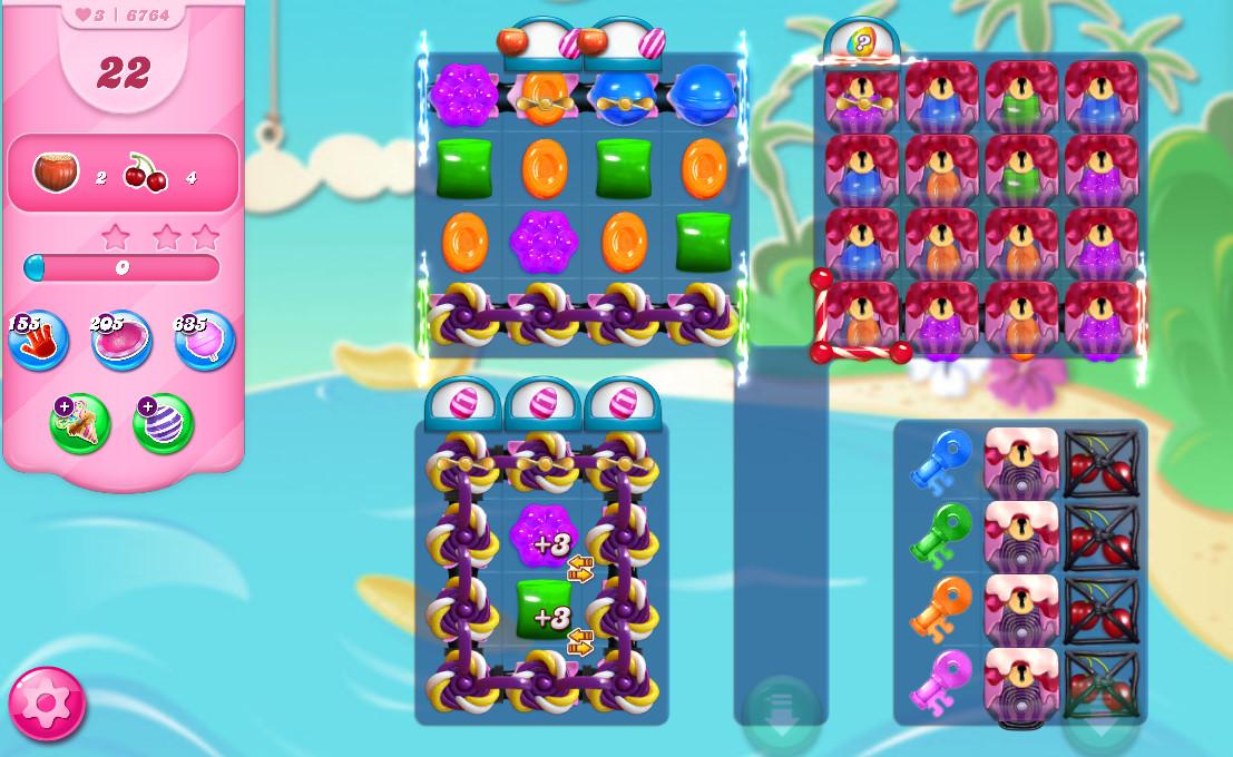 Candy Crush Saga level 6764