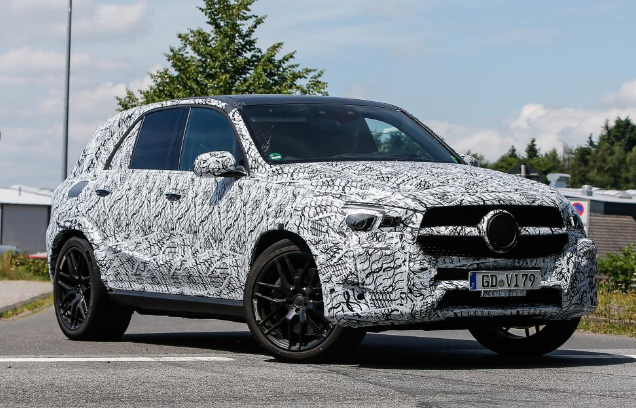New 2018 Mercedes AMG GLE 63 Spied Testing