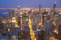 City lights in Chicago. (Credit: Luis José Da Silva G/flickr) Click to Enlarge.