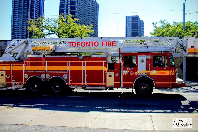 Amerykański wóz strażacki