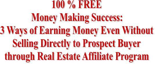 Making money through affiliate programs