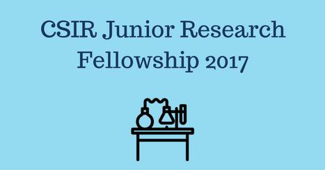 CSIR JRF 2017