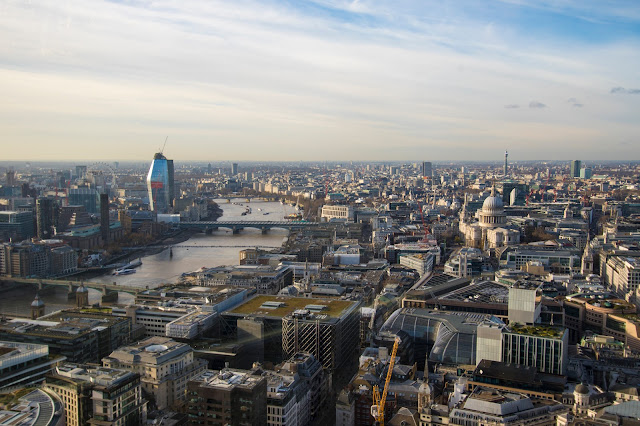Vista dallo Sky garden-Londra