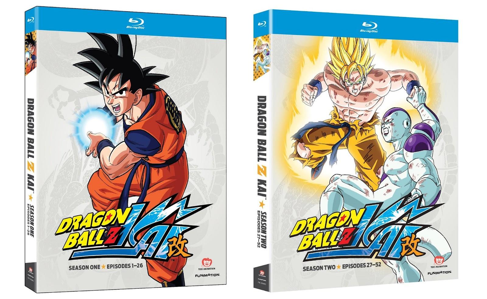 Aesthetica Of A Rogue Hero Ita anime on blu-ray!: dragon ball z kai - season one & season