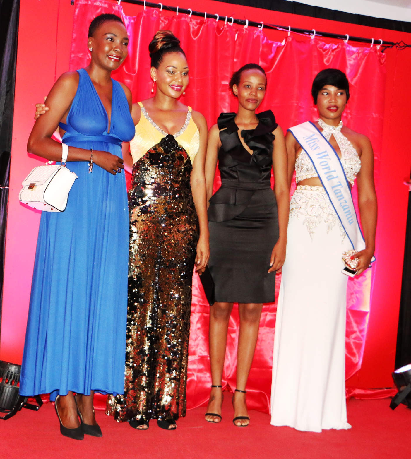 NURU THE LIGHT: MISS TANZANIA YA AMKA TENA,THE LAUNCH TOOK