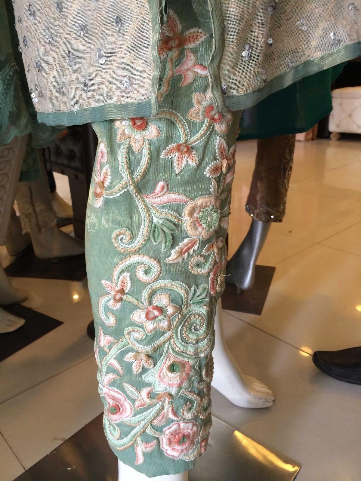 Ayesha Somaya Ready to wear trousers - Pakistani designer wear