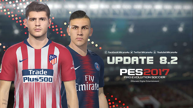 PES 2017 Next Season Patch 2019 Update 8 2 - End of winter transfers