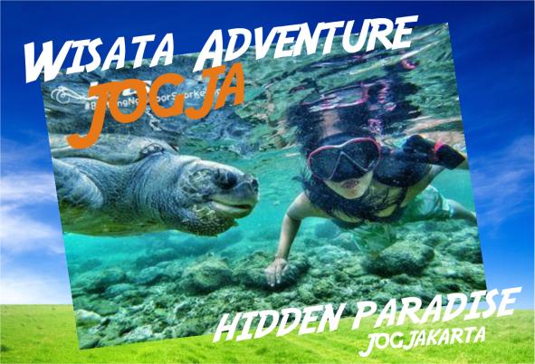 paket wisata adventure di Jogja diving di pantai