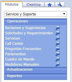 Módulo de Servicio y Soporte - Productos Web de eFactory: ERP/CRM, Nómina, Contabilidad, Punto de Venta, Productos para Móviles y Tabletas