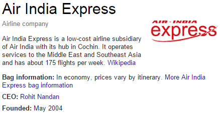 air india express customer service number