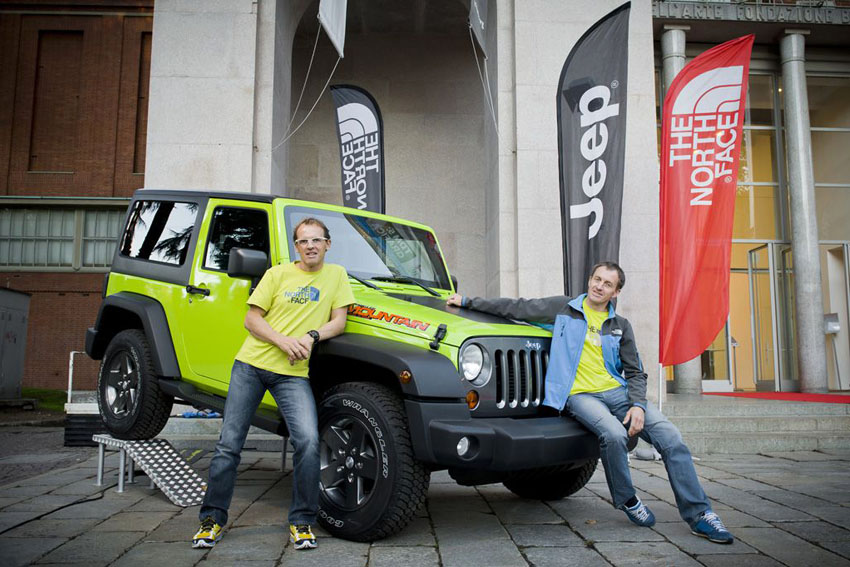 50% price san francisco classic style Jeep to sponsor the European tour of the The North Face ...