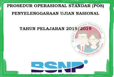 POS UN 2019 Tahun Pelajaran 2018/2019 untuk SMP SMA SMK