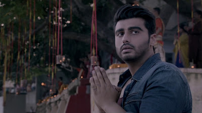 Arjun Kapoor Pray  Image In Half Girlfriend Film