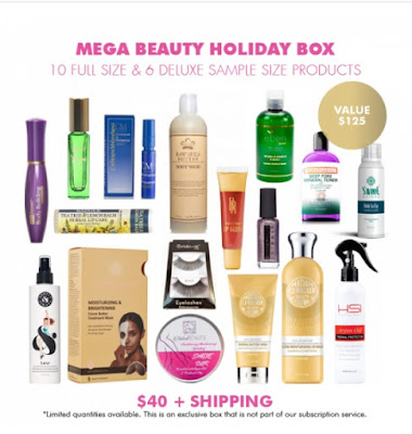 COCOTIQUE Mega Beauty Box Holiday Edition
