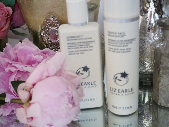 Liz Earle Eyebright + Gentle Face Exfoliator