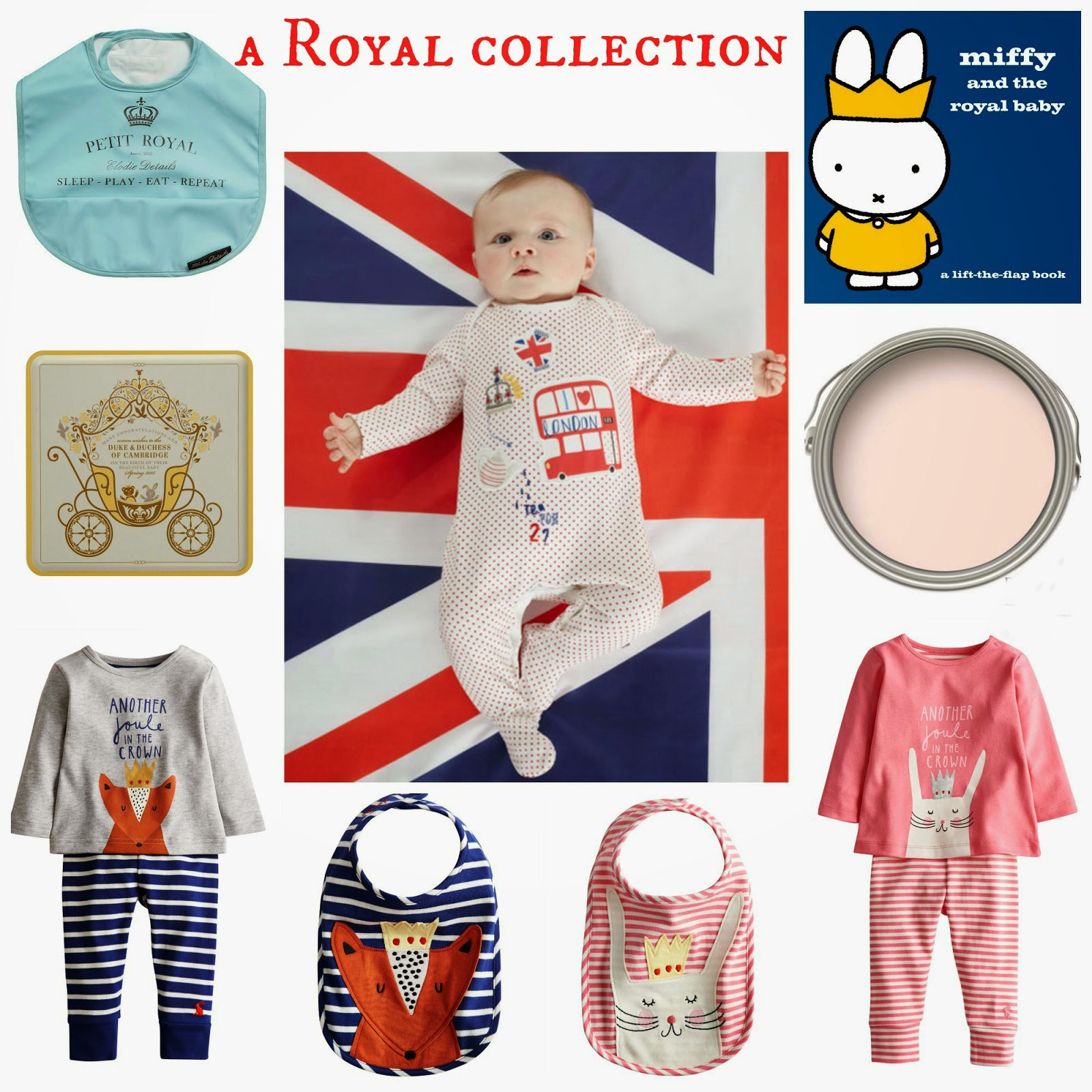 mamasVIB | V. I. BABY: Stylish ways to celebrate the arrival of the Royal Baby  | royal baby | royal | duke and duchess of cmabridge | kate middleton | prince george | new baby | royal baby | marsk and spencer | limited edition biscuit tin | miff and the royal baby | joules royal baby clothes | children salon | new royal birth | george | baby boy | baby girl | princess | kate | willima | prince william | pregnancy | royal news | stylish buys | shopping | mamasVIB