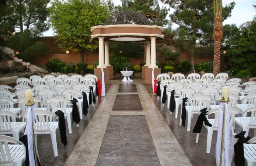 Rainbow Gardens Las Vegas Wedding Venue