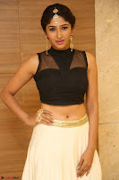 Roshni Prakash in a Sleeveless Crop Top and Long Cream Ethnic Skirt 122.JPG