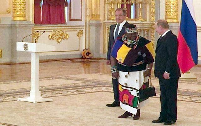 Путин принимает главу африканского государства
