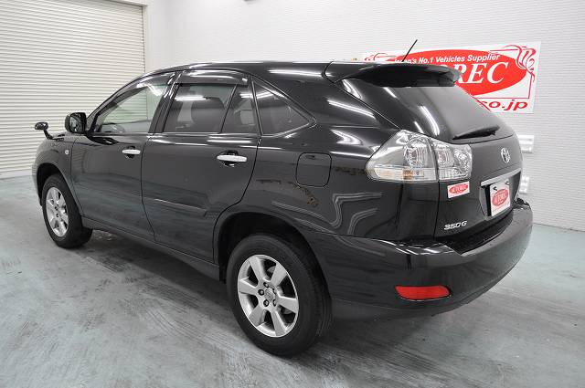 2007 Toyota Harrier L Package Japanese Vehicles To The World