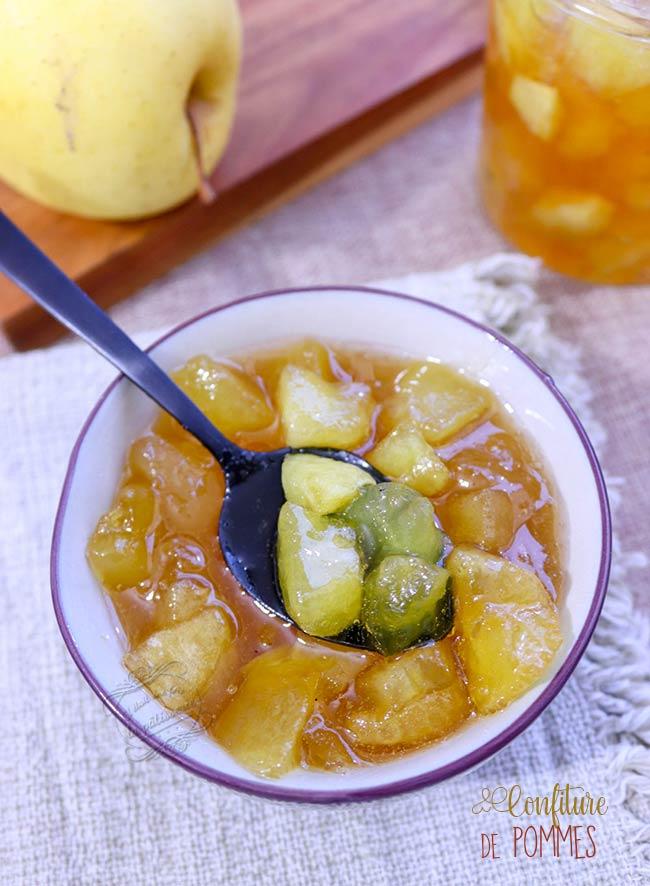 recette confiture de pommes