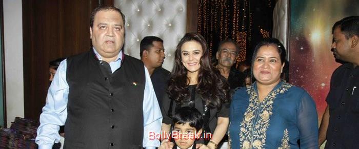 Anil Kapoor, Preity Zinta, Aakash Dhingra, Hot HD Images of Priety Zinta at Aakash Dingra's 7th Birthday Bash
