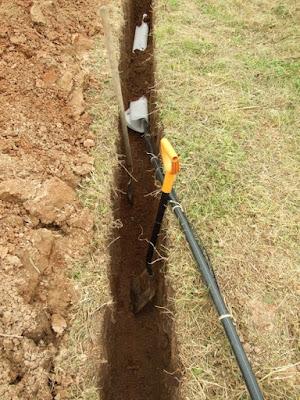 прокладка подземного водопровода