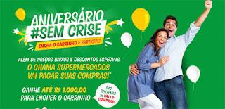 Promoção Supermercados Chama 2016