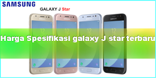 Harga dan spesifikasi Samsung Galaxy J3 Star 2018
