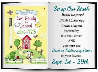 September Book Inspired Stash Challenge