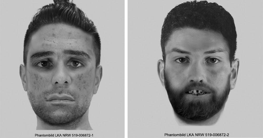 Gemeinschaftliche Vergewaltigung: Polizei bittet um Hinweise zu den Personen auf den Phantombildern