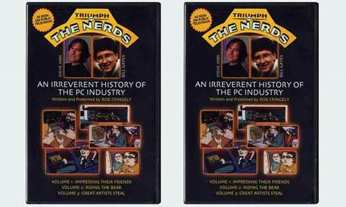 Entre os personagens do filme O Triunfo dos Nerds aparecem Steve Jobs, Bill Gates e Steve Wozniak