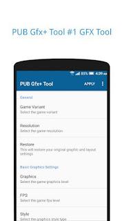 PUBG fx+Tool:#1 GFX Tool advance settings NO BAN v0.11.0p Paid APK