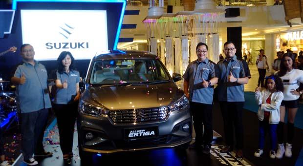 Suzuki All New Ertiga Siap Mengaspal di Bandung