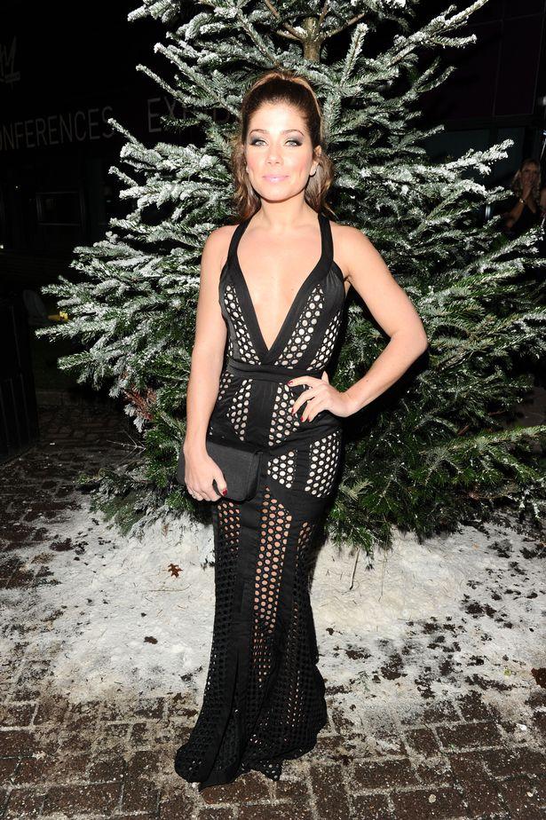 Nikki-Sanderson-at-Denise-Welchs-Christmas-Party