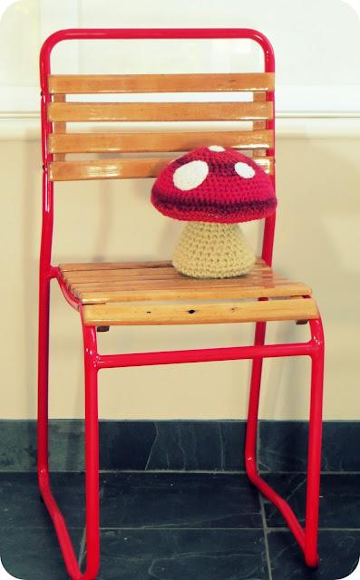 retro chair restoration project
