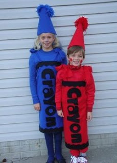 crayon halloween costume costumes idea