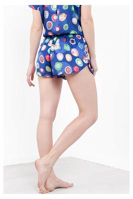 Manolos Desigual. Short de pijama