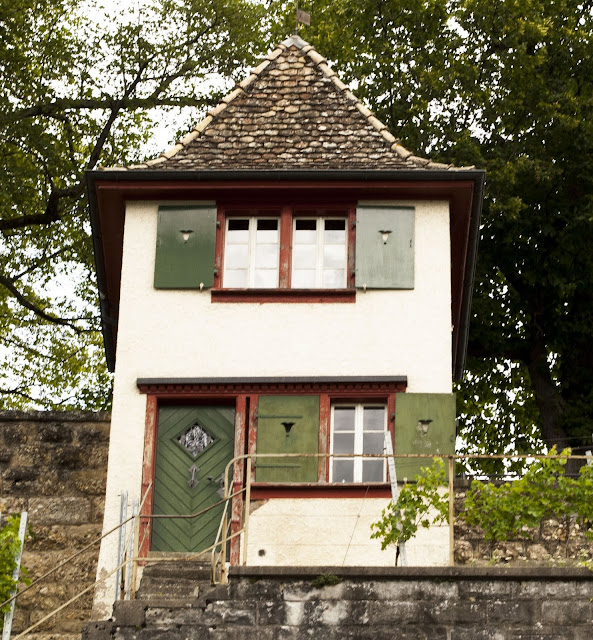Gardener's house in Rapperswil, Switzerland