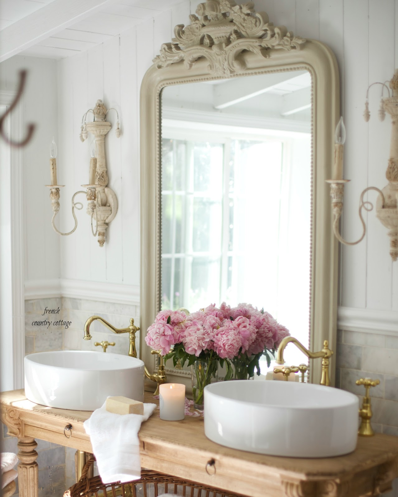 Marvelous marble and vessel sinks