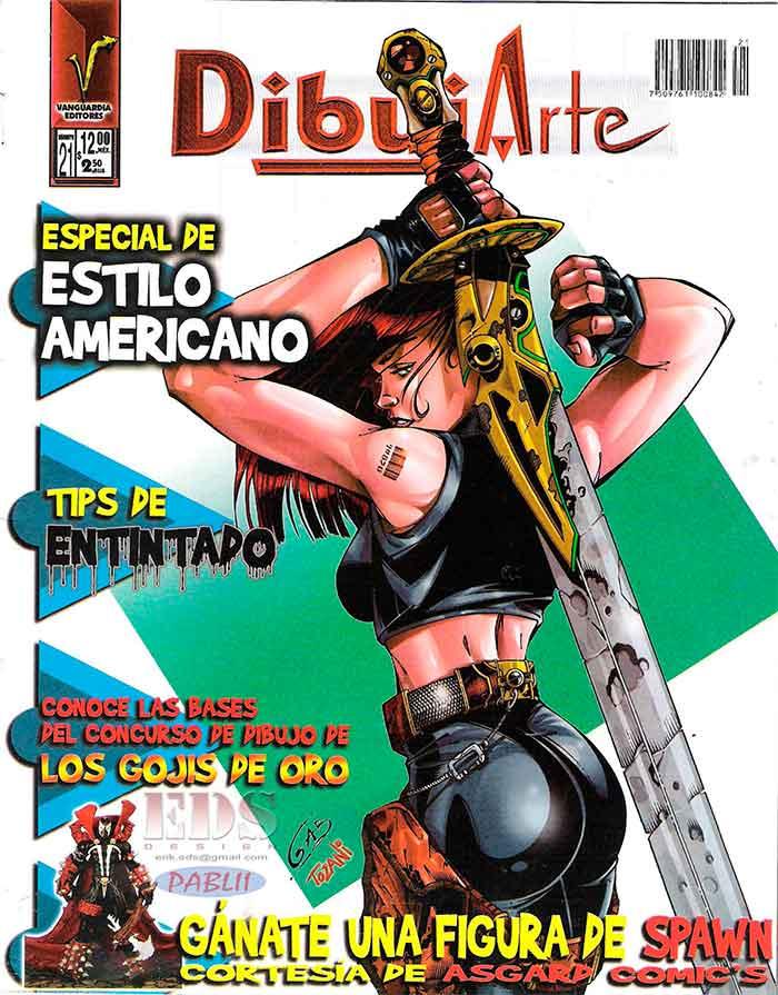Descarga: DibujArte #21 - Especial Estilo Americano.