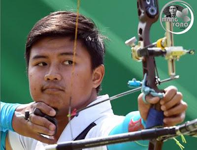 Luar Biasa!... Arjuna Pemanah Indonesia Kalahkan Juara Dunia di Olimpiade 2016