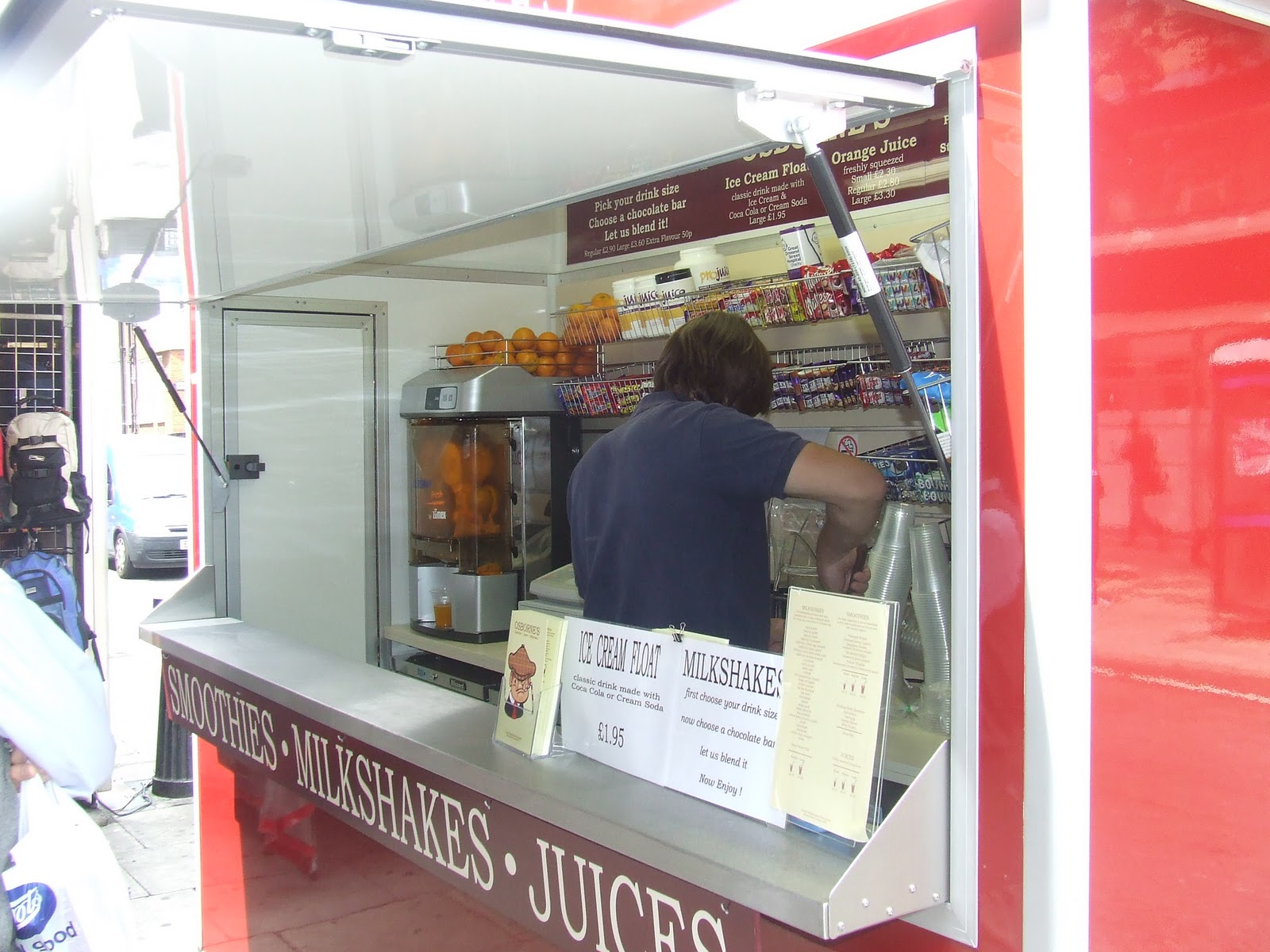 Edmund Evans Catering Trailers Street Food Units And