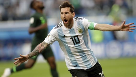 lionel messi - argentina 2 nigeria 1 - imagenes seleccion argentina de futbol