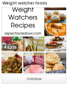 Weight Watchers Food on Pinterest