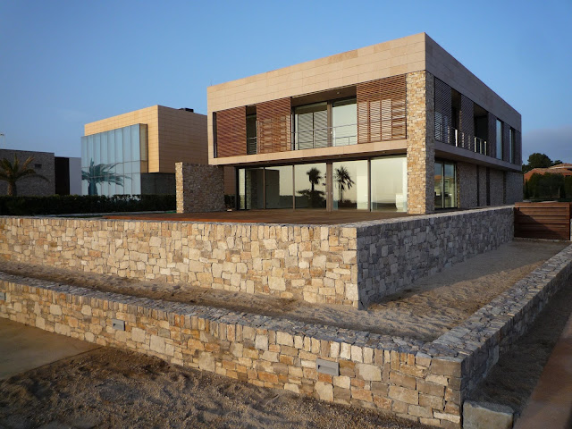 mediterranean house in the sea - ametlla226