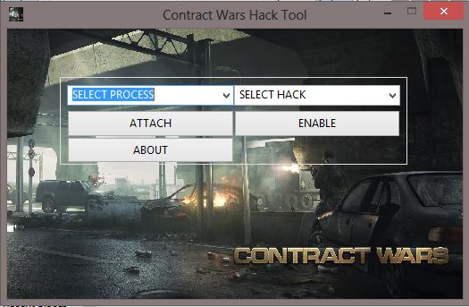 cw Contract Wars Hile Tool V1.4 Oyun Botu indir