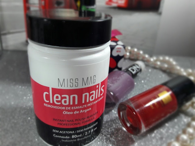 REMOVEDOR DE ESMALTES CLEAN NAILS MISS MAG