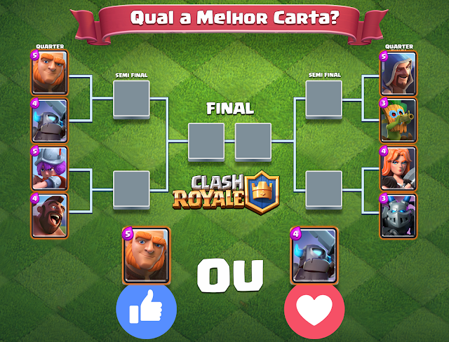 Clash Royale - Torneio Cards